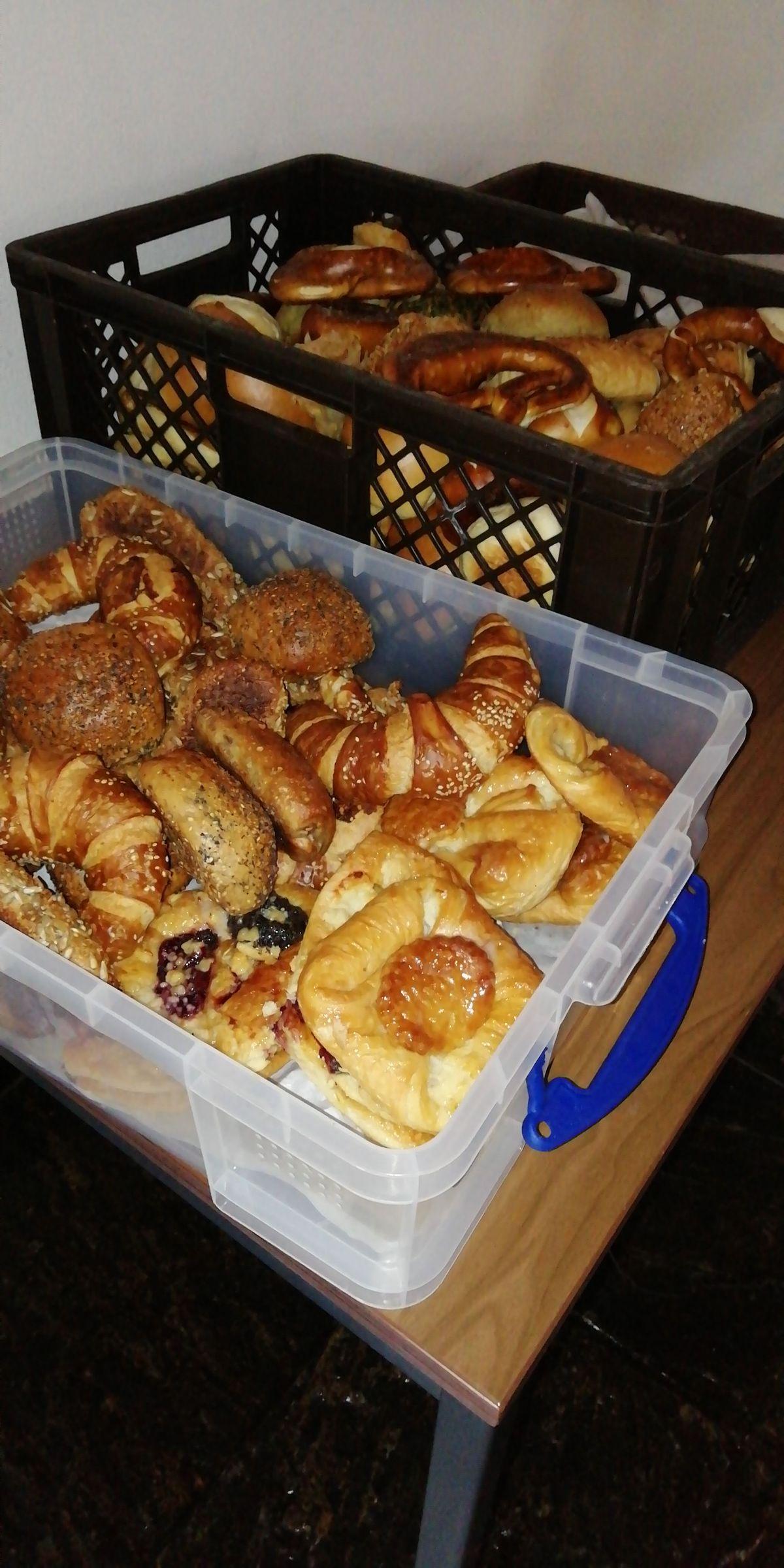 Brot und Brötchen in Hülle und Fülle